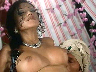 Oriental princess being fucked in every hole