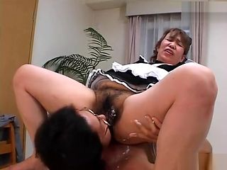 Old Asian Maid