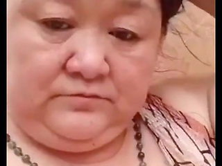 Fair Chinese Granny Asking If She Is Pretty Enough For You
