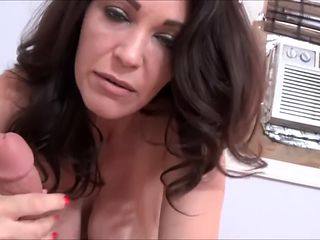 Fitness Step Mom Milks Step Son's Cock - Charlee Chase - Family Therapy