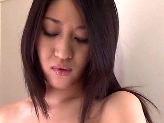 Crazy Japanese model Saya Nakamura in Amazing fingering, cunnilingus JAV scene