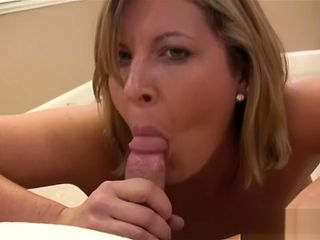 AmateursGW - Curvy MILF swallowing his cum before fucking First Part