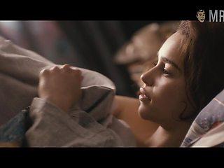 Emilia Clarke bed scene
