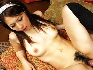 Himeki Kaede in Sexy waitress Himeki Kaede fucked by her old boss - AviDolz