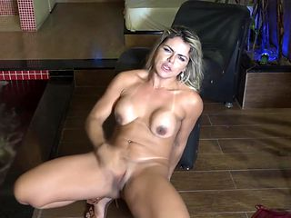 brazilian NICOLLY masturbating until a real orgasm.