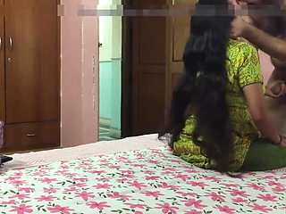 Today Exclusive- Desi MAid Sex With House Own...