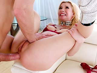 MILF feels endless cock smashing her ass in rough anal scenes