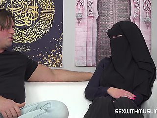 Luci Angel Muslim Girl Caught Doing Nothing Gets Pun