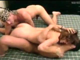 bull cums on wife and hubby