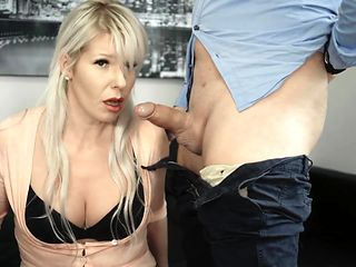 Hot Milf Secretary Deepthroat Boss Big Cock for a fat BONUS PART1