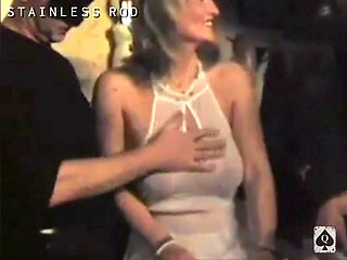 Swinger French Wife Joins other Swinger MILFs at fuck party1