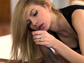 BLACK4K. Nice blonde babe Karina Grand wants