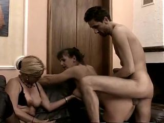German Saggy Tit Queens Assfucked By 10 Inch Cock