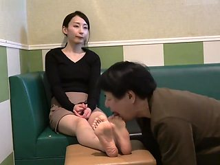 Japanese Foot Worship