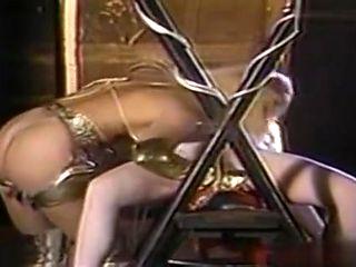 Brutal Dominatrix Destroying Her Slave With A Strapon