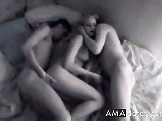 Amateur - Hot Blond PartyGirl Teen MMF Threesome