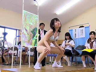 Sweet Asian schoolgirls get their bodies thoroughly examined