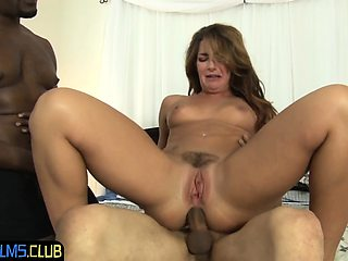 BBC loving bride gets double penetrated