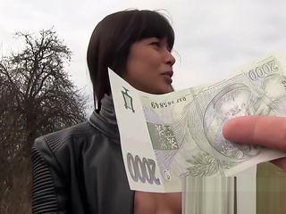 Public Pick Ups - Russian MILF's Creampie starring Mona Kim
