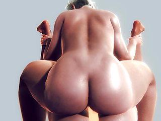 3d CG animation sex Big tits
