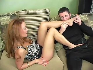Janet Mason foot worship