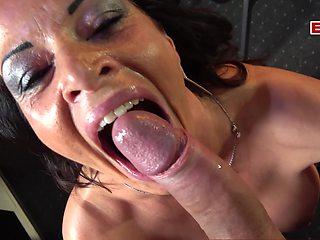 Sex casting agent pick up big tits milf