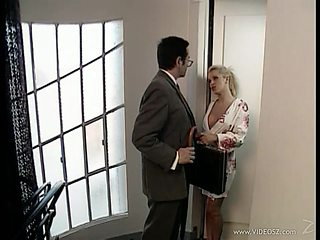 Anal babe opens wide for cock after getting BJ in nylons