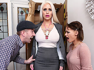 Alicia Amira & Danny D in Life Assistant Doll - Brazzers