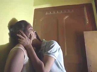 Desi Kamvali Bay Sunita Has Hardcore sex with Virgin Boy