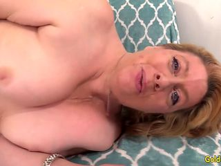 Hot Mature Sex with Slutty Grandma Penny Sue and a Lucky Old Man