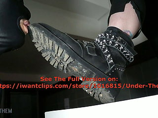 Licking Heavy Metal Boots