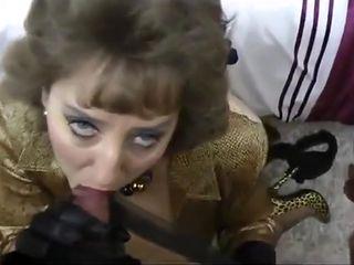 British aunt turns slut