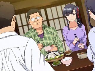 Creampie, hentai, anime, milf