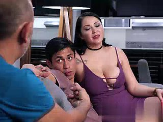 Pamela rios fucks son in front of cheater husband