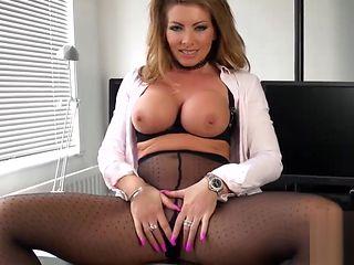 Office Milf Naked Strip Pussy Fantasy Fuck