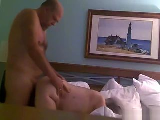 Old Couple Likes To Fuck In Their Bed