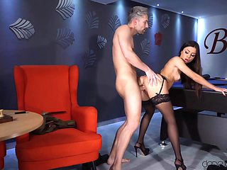 Martina Smeraldi - Gets Fucked And Creampied By Pool Table