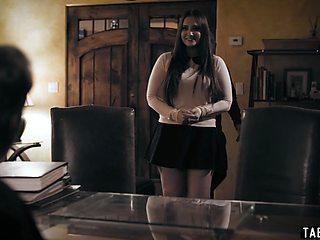 Priest takes advantage of desperate bride to be Gia Paige