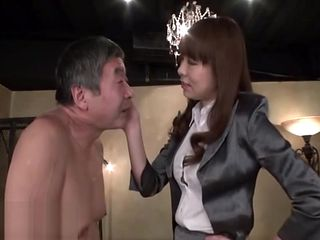 Japanese mistress sex with old man