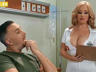 Curvy Busty Nurse Fucks Her Patient – full scene at ebrazz.tv