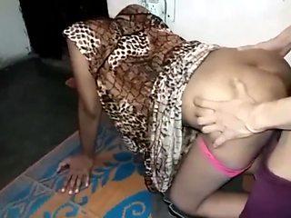 Sexy chudai with desi romantic Indian bhabhi