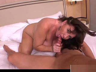 Sweet New Fake Mother Renee Gives Titjob Hot Teen Son