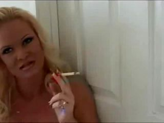 gorgeous smoking blonde slut Mommy tittyfuck
