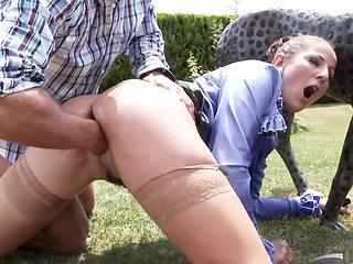 Horny pornstars Mira Cuckold and Valentina Ross in crazy hairy, brazilian sex clip