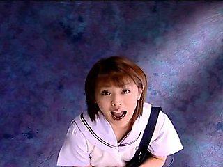 Subtitled CFNM dominant Japanese schoolgirl senzuri
