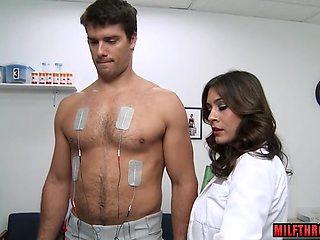 Latin milf anal and cumshot