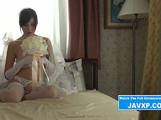 Perfect Japanese Bride Fucked POV