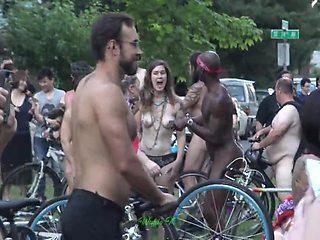 Naked Party In Public