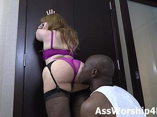 Mistress Summer Hart's ass domination