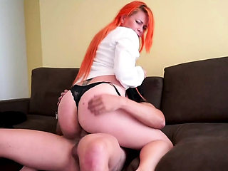 Redhead Milf Swallow Cum